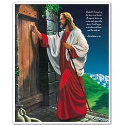 Jesus Knocking at the Door Custom Print