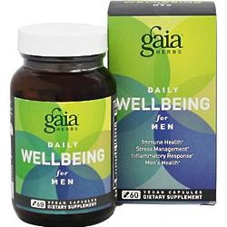 Daily WellBeing for Men Supplement - 60 Vegan Liquid Caps