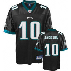 DeSean Jackson Black NFL Replica Philadelphia Eagles Youth Jersey