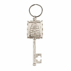 Bee Hive Key Ring