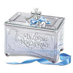 In Loving Remembrance Personalized Music Box