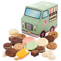 Ice Cream Treats Truck Box of Cookie Bites