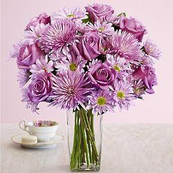 Deluxe Lavish Lavender Floral Bouquet
