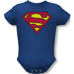 Superman Logo Infant Snapsuit