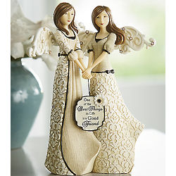 Good Friends Angel Pair Figurine