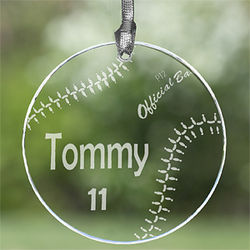 7 Sports Personalized Ornament and Suncatcher
