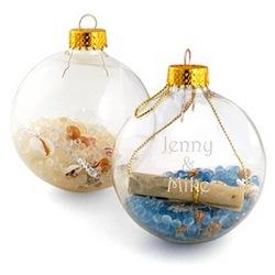 Seashell Potpourri Ornament