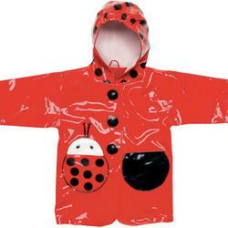 Ladybug Baby's First Rain Coat