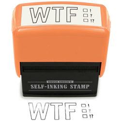 WTF Self-Inking Stamper
