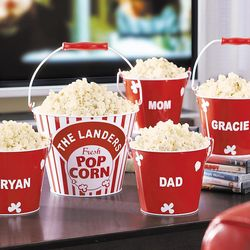 Personalized Popcorn Bucket Set