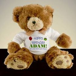 Happy Birthday Personalized Teddy Bear