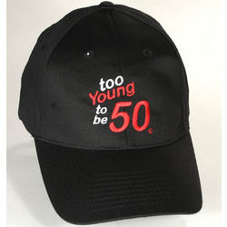 Too Young to be 50 Birthday Cap