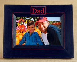 Dad Picture Frame with Customizable Colors
