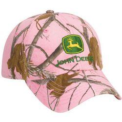 John Deere Ladies' Weekender Camo Cap