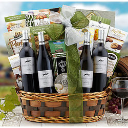 Steeplechase Vineyards Quartet Gift Basket