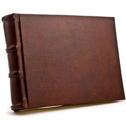 9x6 Handmade Italian Leather Photo Album / Brag Book