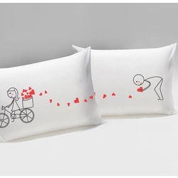 All My Love For You His & Hers Matching Couple Pillowcases