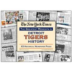 New York Times Detroit Tigers Replica Newspaper