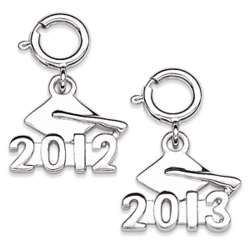 Sterling Silver Graduation 2012 Dangle