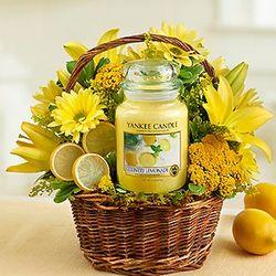 Yankee Candle Make Lemonade Gift Basket