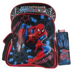 Spiderman Backpack and Pencil Case
