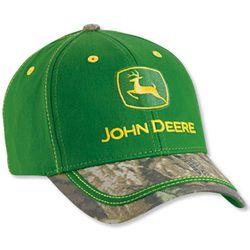 John Deere Advantage Timber Visor Youth Cap