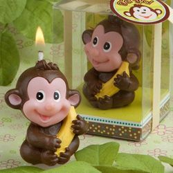 Monkey Candle Favors