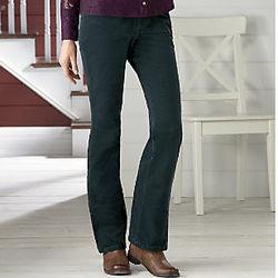 Misses Cut Velvet Jeans