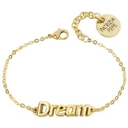 Gold Tone Dream Bracelet