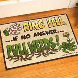 Pull Weeds Doormat