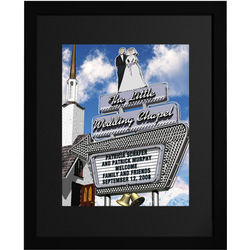 Little Wedding Chapel Personalized Sign