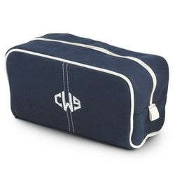Navy Dopp Kit