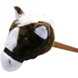 30 inch Plush Brown Stick Hobby-Horse