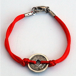 Feng Shui Coin Bracelet