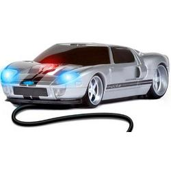Ford GT Road Mice Wired in Silver/ Black Stripe