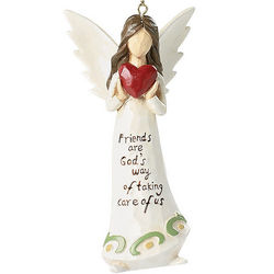 'Friends are God's Way' Angel Ornament
