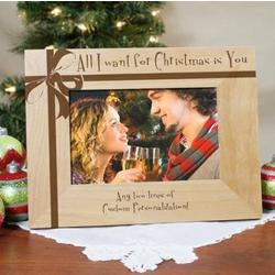 All I Want for Christmas Photo Frame
