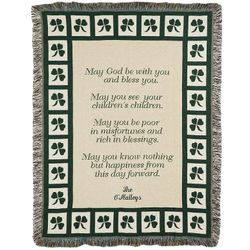 Irish Prayer Throw
