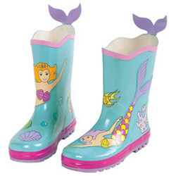 Mermaid Rain Boots