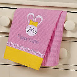 Happy Easter Dish Towel