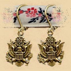 Military Seal Earrings