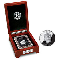 1776-1976 Bicentennial Eisenhower Silver Dollar Coin