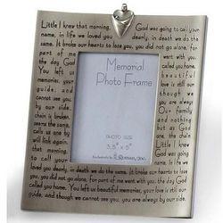 Broken Chain Poem Memorial Photo Frame