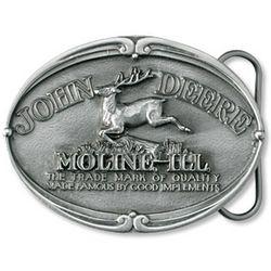 John Deere 1912 Trademark Belt Buckle