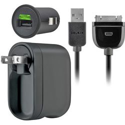 Amp Charger Kit for Home, Office, or Car