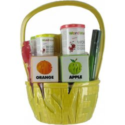 WordWorld Fun Dough Fruit Basket with Letter Molds