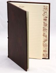 Handmade Italian Leather Recipe Book