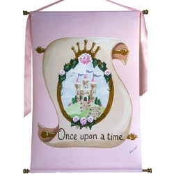 Princess Scroll Wall Hanging
