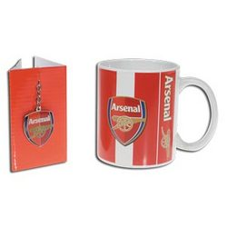 Arsenal Mug/Key Chain Set