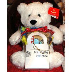 My Healthy Valentine Teddy Bear